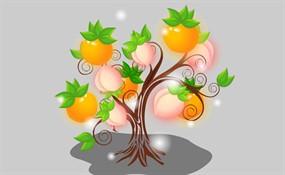 桃树下的小白兔mp3_桃树_桃树图片 - 站长素材