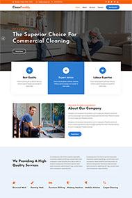 家庭清潔小妙招HTML5模板