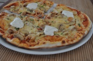 营养素食披萨图片