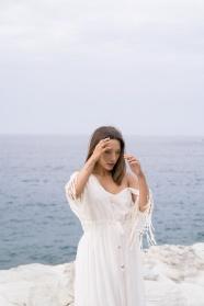 歐美海邊性感女人圖片