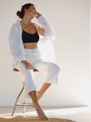 性感白襯衫美女藝術寫真圖片