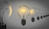 電燈泡背景黑白圖片