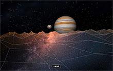 HTML5天體木星動畫特效