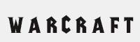 warcraft字體