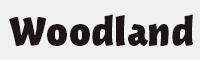 woodland字體