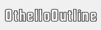 OthelloOutline字體