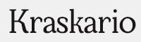 Kraskario字體