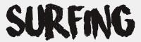 surfing字體