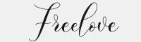 Freelove字體