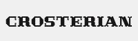 Crosterian字體