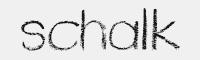 schalk字體
