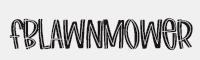 FBLawnmower字體
