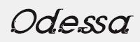 Odessa Italic字體
