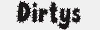 Dirtys字體