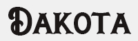 Dakota字體