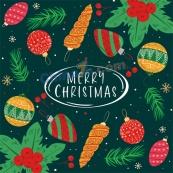 圣誕節快樂矢量海報背景