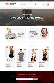 国外服装商城官网网站模板
