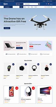 数码电子产品销售HTML5模板