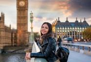 英國旅行美女圖片