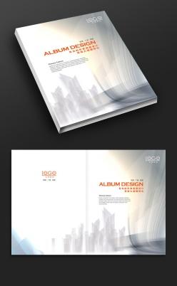 城市發展企業畫冊封面