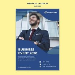 2020年商務項目宣傳單設計