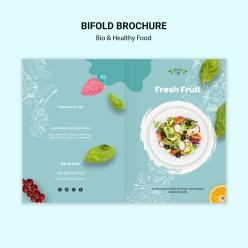 特色餐飲單品折頁宣傳單設計