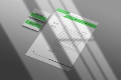 名片信紙樣機PSD模板