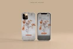 iPhone12智能手機外殼模型
