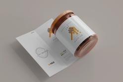 蜂蜜包装样机模板设计