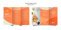 健康食物折頁宣傳冊